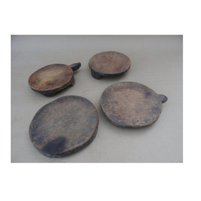Antique Wooden Chaklota Asst - Natural