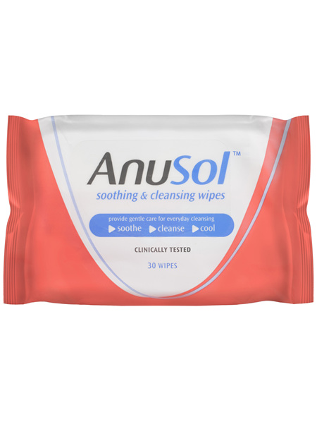 Anusol Soothing and Cleansing Wipes 30wipes