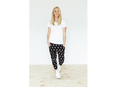 APARTMENT PANTS CACTUS BLACKWHITE SIZE10
