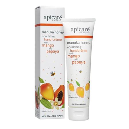 APICARE Mango & Papaya Norurishing Hand Creme 90g