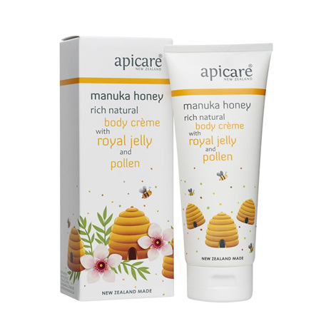 APICARE Royal Jelly & Pollen Rich Natural Body Creme 200g