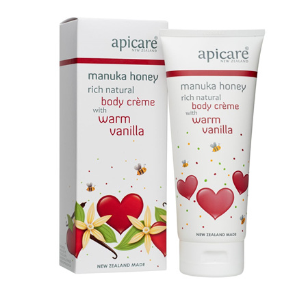 APICARE Warm Vanilla Rich Natural Body Creme 200g