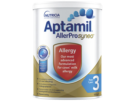 Aptamil AllerPro Syneo 3 Allergy Young Child Formula from 1 Year Old 900g