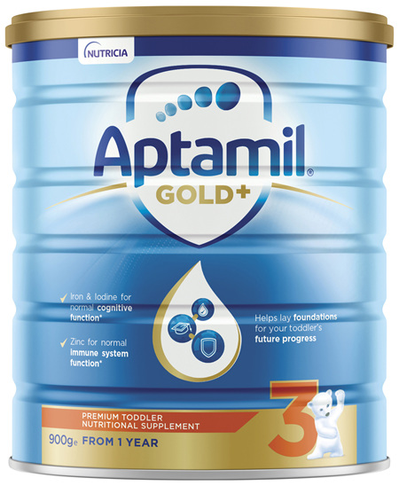 Aptamil Gold+ 3 Pronutra Biotik Toddler Nutritional Supplement From 1 Year 900g