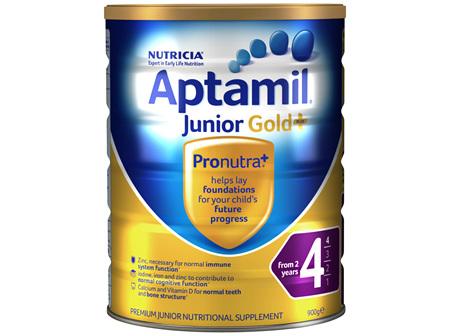 Aptamil Gold+ 4 Premium Junior Milk Drink From 2 Years 900g
