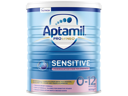 Aptamil Prosyneo Sensitive Baby Infant Formula Formulated For Tolerance From Birth to 12 Months