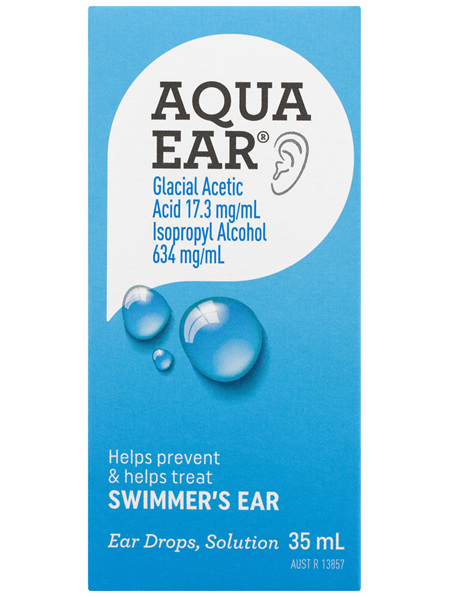 Aquaear Ear Drops Solution 35mL