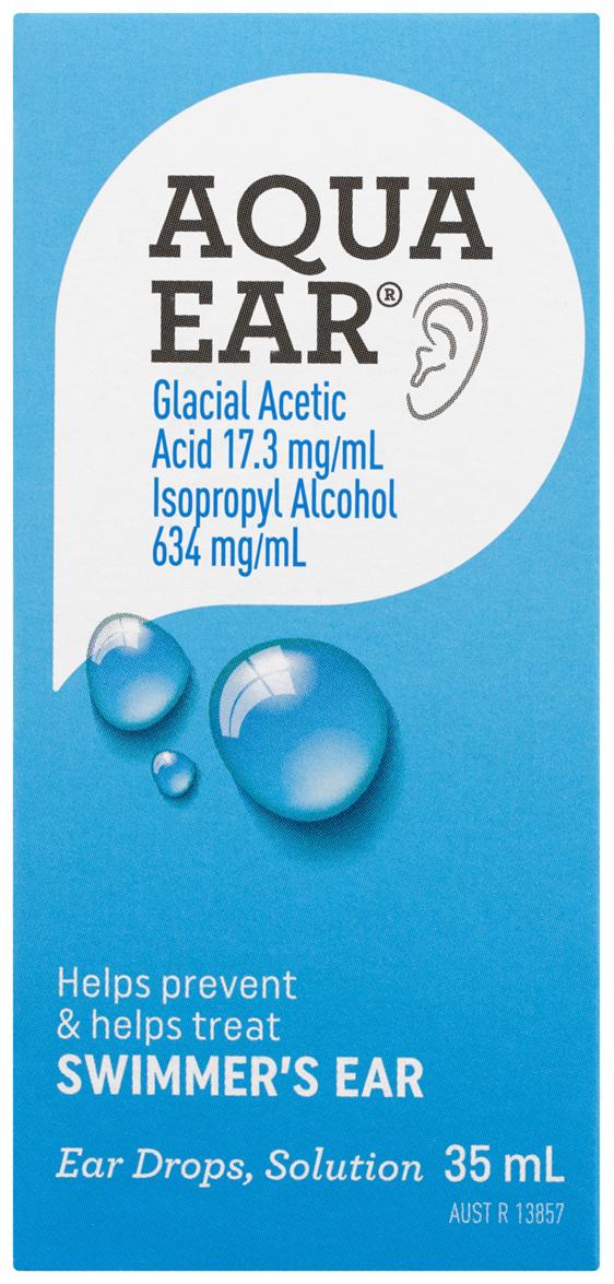 Aquaear Ear Drops Solution 35mL