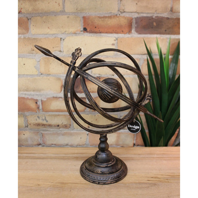 Armillary Globe Sphere - Iron