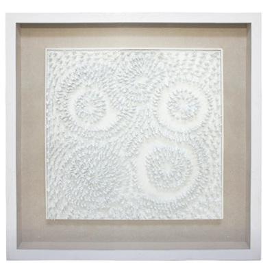 Army Man Art - White Frame - 120x120cm