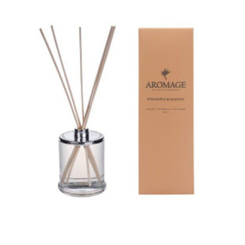 Aromage Diffuser-Clear Glass Pineapple&Mango 9cmh