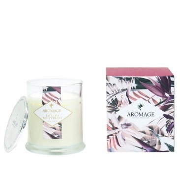 Aromage Fragrant Candle - Lychee & Red Currant (L)