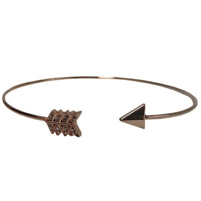 Arrow Bracelet - Rose Gold