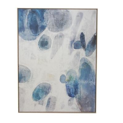 Asha Canvas Print - Natural Frame 92x122cm