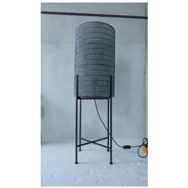 Ashton Metal Lamp on Stand 96cmh