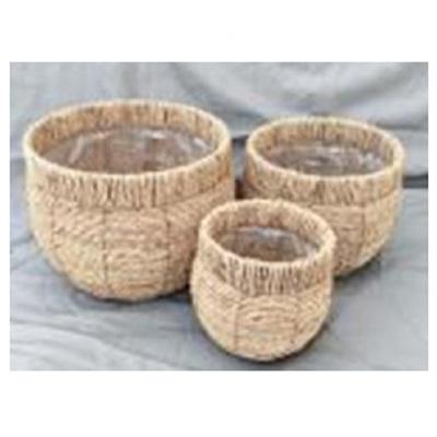 Ashton Woven Basket Planters - Medium