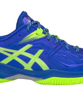 Asics Mens FF Blast Blue/Hazard Green