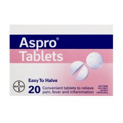 ASPRO Reg 320mg 20tabs