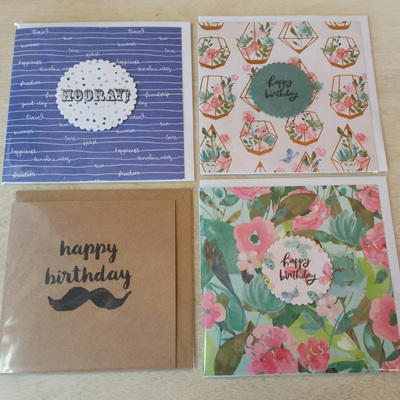 Assorted Handmade Card