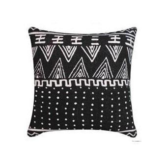 Atuki Cushion - Black & White 35x50cm