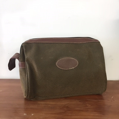 Austin Men's Toilet Bag - Brown