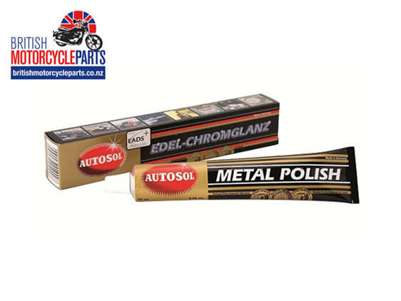 Autosol Metal Polish - 75ml Tube - British Motorcycle Parts Ltd - Auckland NZ