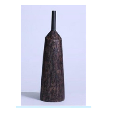 Autumn Vase - Distressed Chocolate - Medium