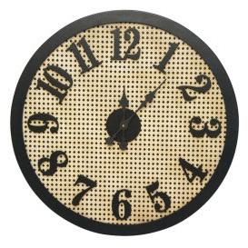 Ava Clock - Black Frame 66cm