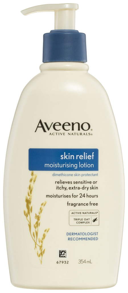Aveeno Active Natural Skin Relief Moisturising Lotion 354mL