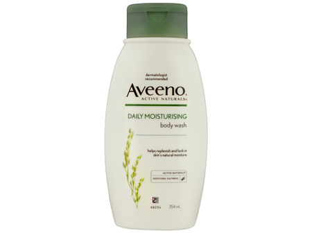 Aveeno Active Naturals Daily Moisturising Body Wash 354mL