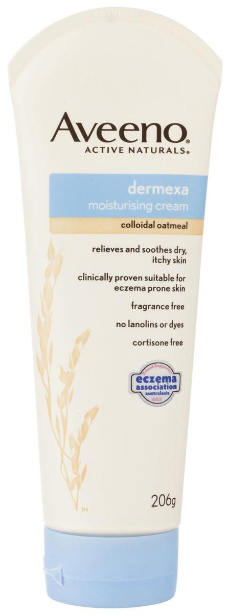 Aveeno Active Naturals Dermexa Moisturising Cream 206g