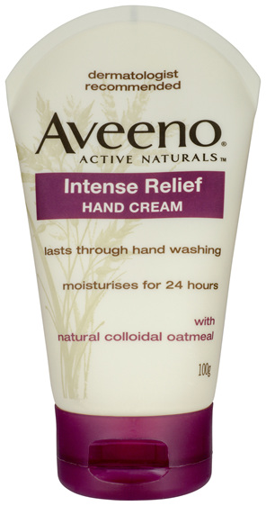 Aveeno Active Naturals Intense Relief Hand Cream 100g