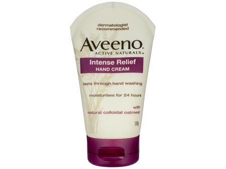 Aveeno Active Naturals Intense Relief Hand Cream 100g