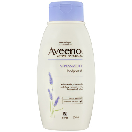 Aveeno Active Naturals Stress Relief Body Wash 354mL