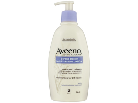 Aveeno Active Naturals Stress Relief Calming Moisturising Lotion 354mL
