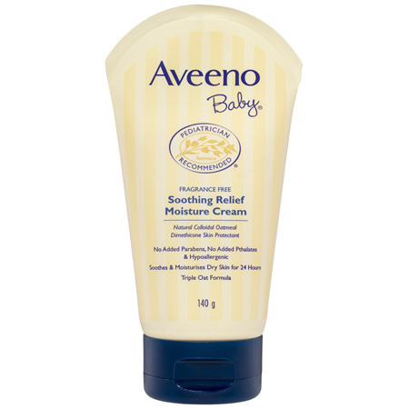 Aveeno Baby Lotion Soothing Relief Moisturising Cream 140g
