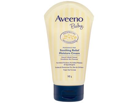 Aveeno Baby Soothing Relief Moisture Cream 140g