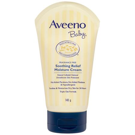 Aveeno Baby Soothing Relief Moisturising Cream 140g