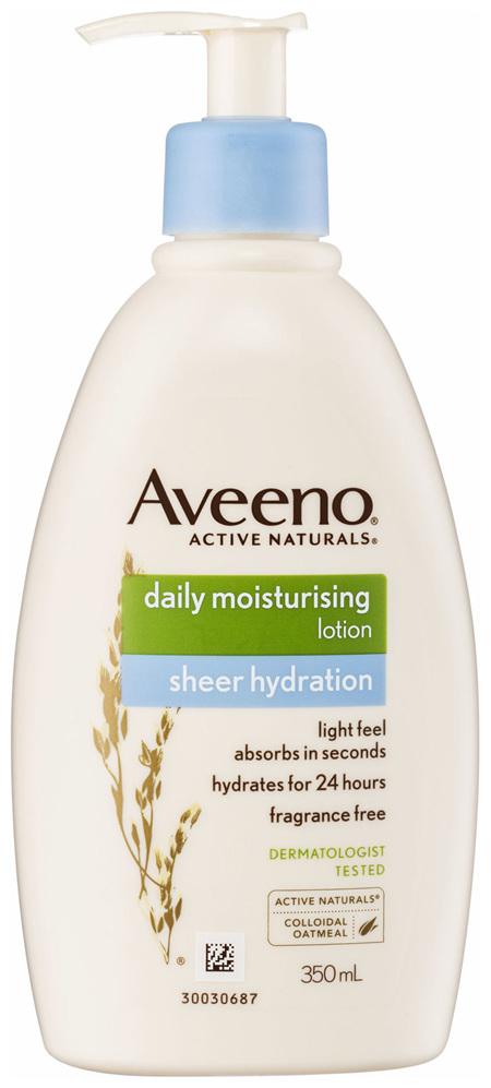 Aveeno Daily Moisturising Body Lotion Sheer Hydration 350mL