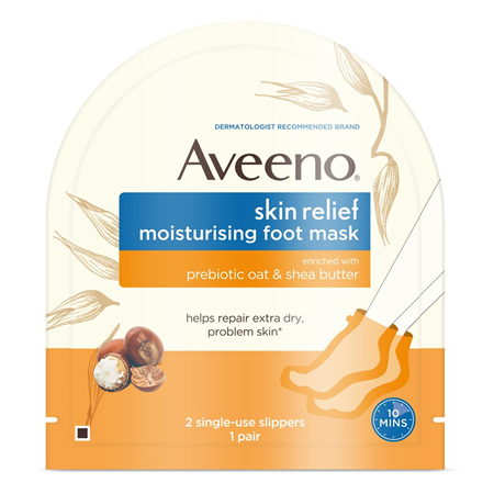 AVEENO Skin Relief Foot Mask