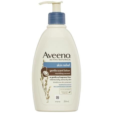 Aveeno Skin Relief Gentle Scented Lotion Nourishing Coconut 354mL