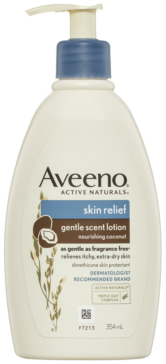 Aveeno Skin Relief Gentle Scented Lotion Nourishing Coconut 354mL