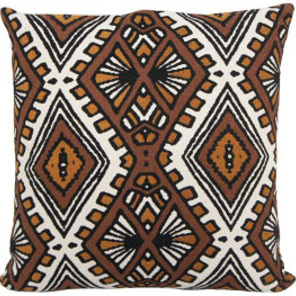 Azuba Cushion - Terracotta & Mustard/45x45cm