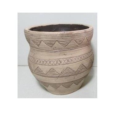 Azzu Vase - Natural 18cmh