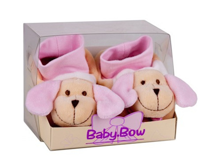 Baby Bow Baby Booties