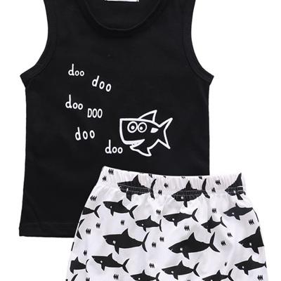 Baby Shark Singlet & Shorts