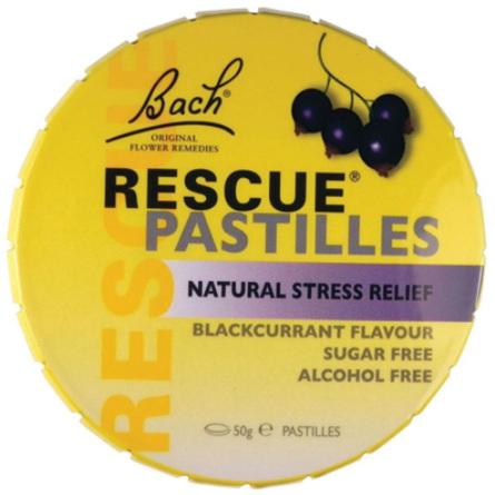 BACH Rescue Pastilles Blackcurrant 50g