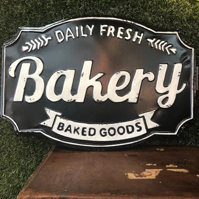 Bakery Plaque