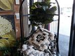 Balah Occasional Chair - Matt Black 160cmh