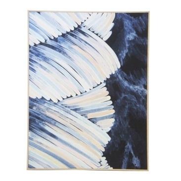 Bali Canvas Print - Natural Frame 90x120cm